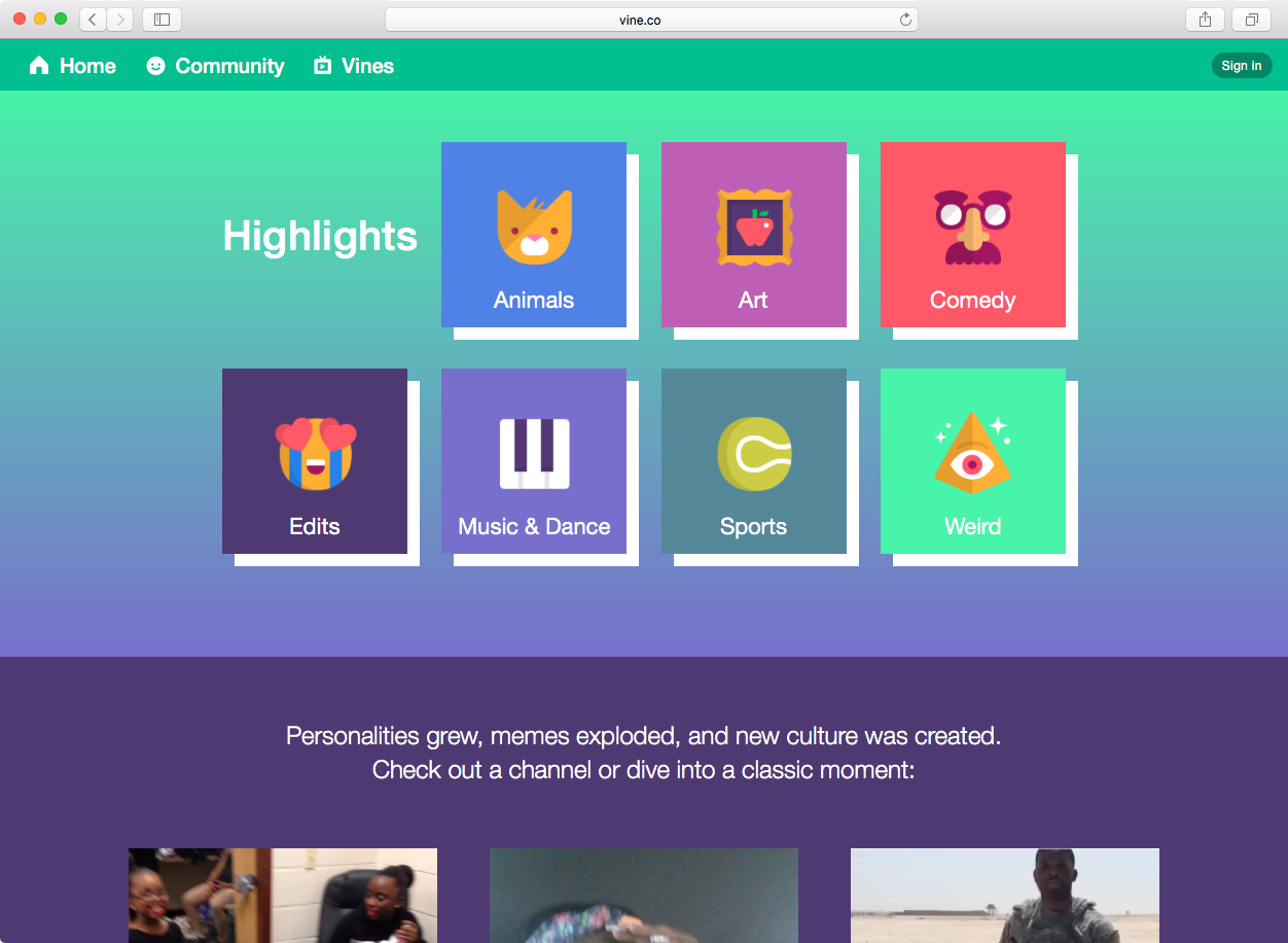 vine archive   Be Awesome Digital   Social Media Experts